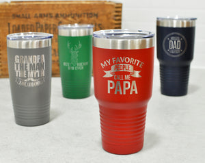 Engraved Tumbler for Dad | Gift for Father's Day
