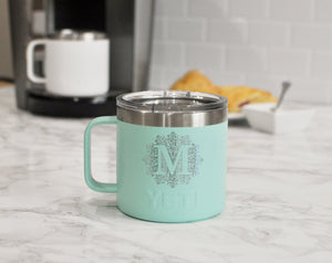Custom Engraved Yeti Tumblers | Personalized Tumbler Coffee Mug