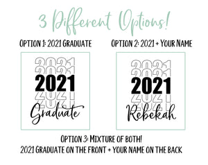 2020 Graduate Engraved Tumbler | Graduation Gift - Intricut Creations