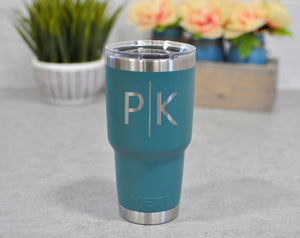 Custom Engraved Yeti Rambler 30 oz. | Personalized Tumbler - Intricut Creations