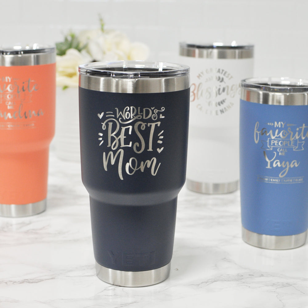 Mother's Day Engraved Yeti | Gifts for Mom and Grandma