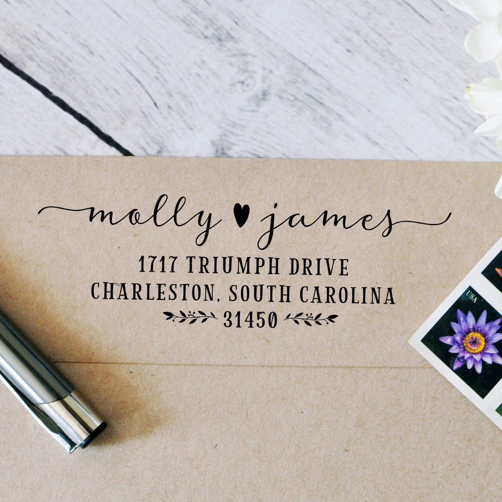 wedding address stamp self inking address stamp rsvp stamps