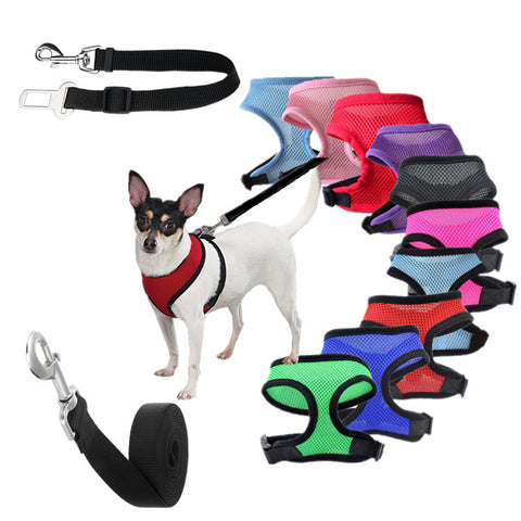 Grid Dog Harness - ensomart
