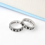"""Always By My Side, Forever In My Heart"" Dog Lover Ring"