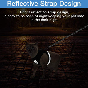 Travelers Reflective Harness & Leash