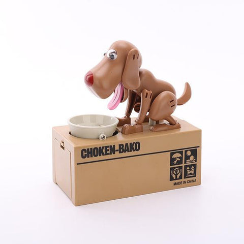 Hungry Dog Coin Bank - ensomart
