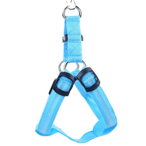 LED Nylon Dog Harness - ensomart