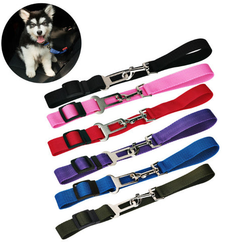 Adjustable Pet Car Safety Belt Collars