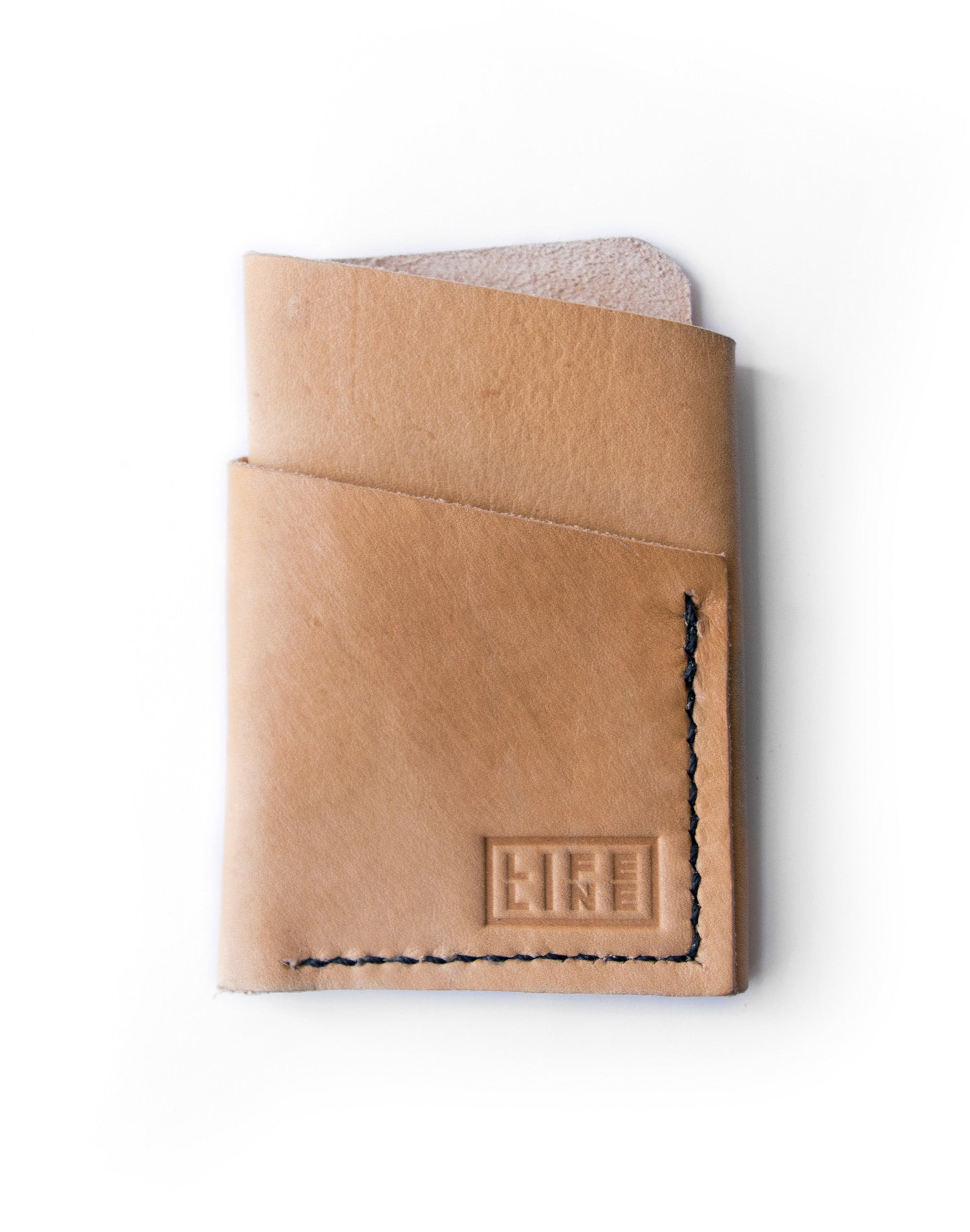 Leather 'Hunter' Card Wallet
