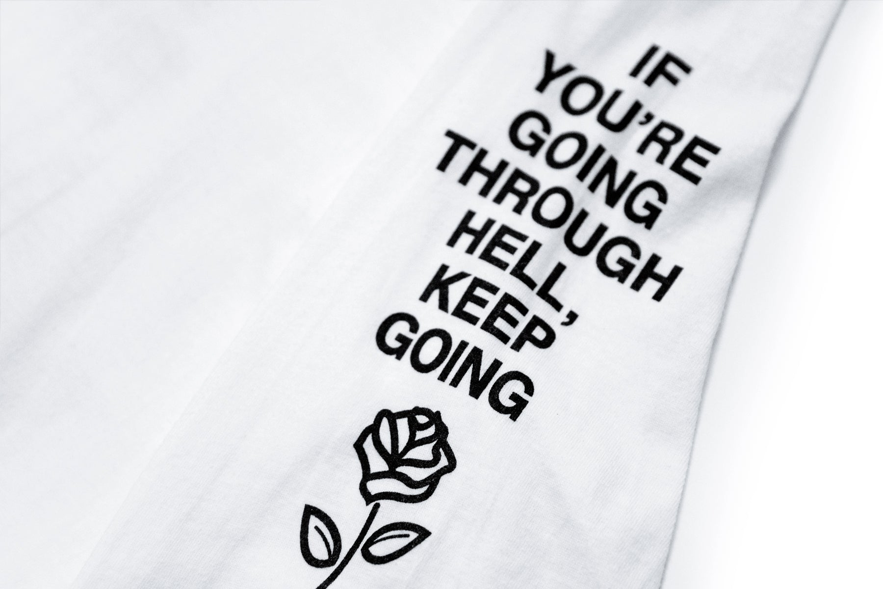 'Keep Going' Longsleeve Tee