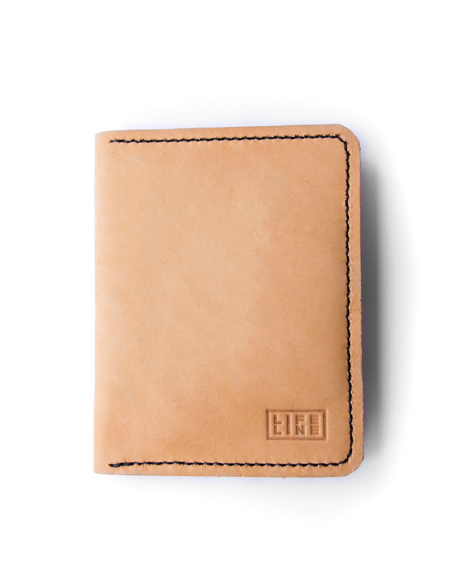 Leather 'Wanderer' Passport Wallet