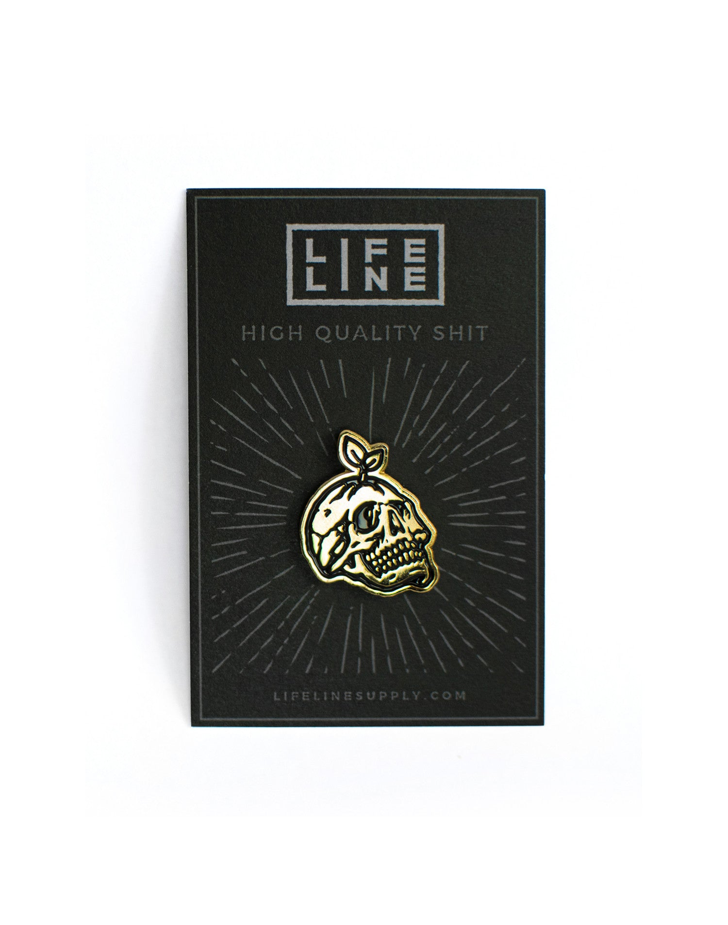 'Rebirth' Enamel Pin