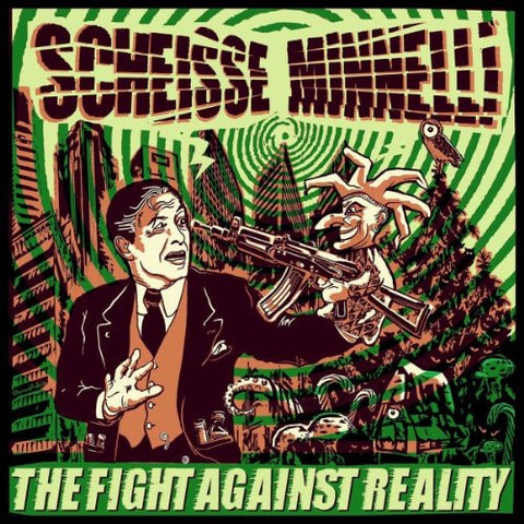 Scheisse Minnelli - Fight against Reality CD/Book
