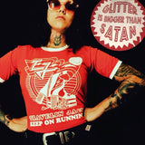 Travelin Jack - Glitter is Bigger than Satan Ringer shirt