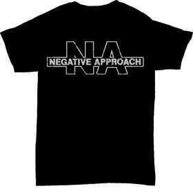 Negative Approach - Logo T shirt