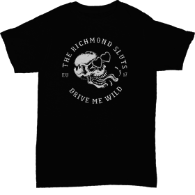 Richmond Sluts - Skull EURO 2017 shirts