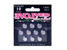 Evolved LR44 Batteries 10 Pack - Joitoyz