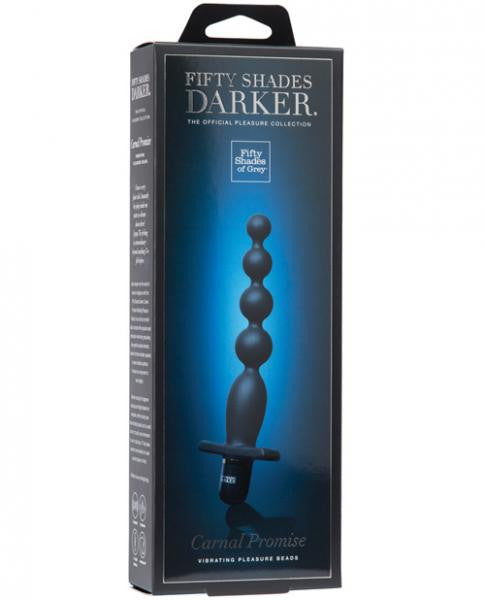 Fifty Shades Darker Carnal Promise Vibrating Anal Beads