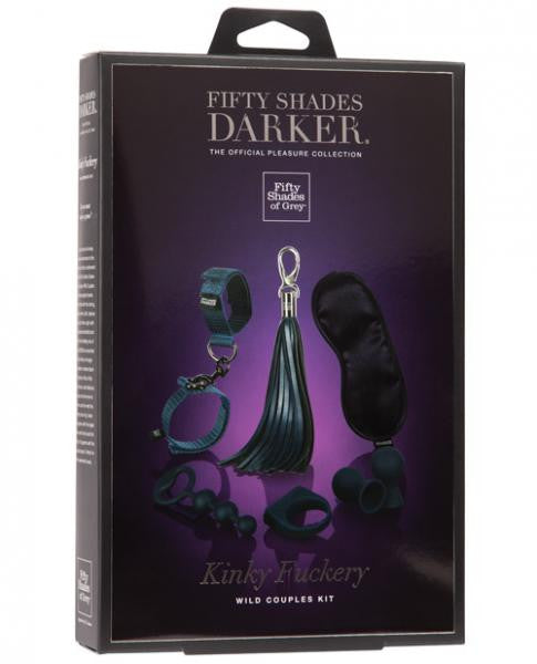 Fifty Shades Darker Kinky Fuckery Kinky Couples Kit - Joitoyz