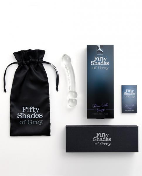 Fifty Shades Of Grey Drive Me Crazy Glass Massage Wand - Joitoyz