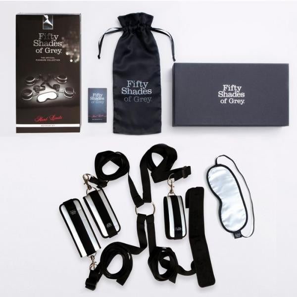 Fifty Shades of Grey Hard Limits Bed Restraint Kit - Joitoyz