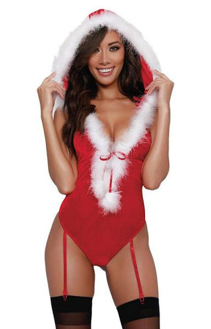 Holiday Santa Velvet Teddy