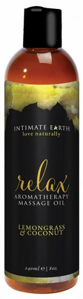 Intimate Earth Relax Massage Oil
