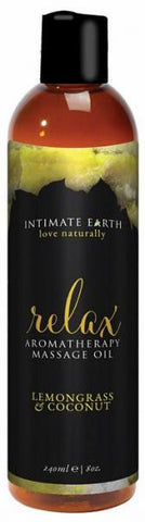 Intimate Earth Relax Massage Oil - Joitoyz
