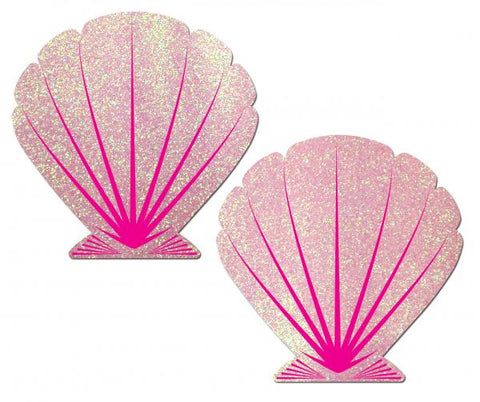 Mermaid Glitter Seashell Pasties - Joitoyz