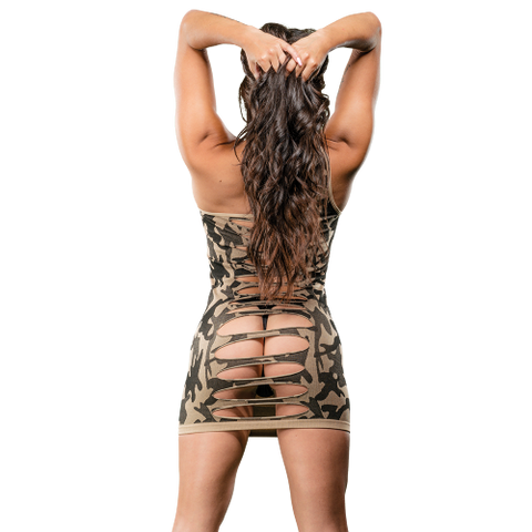 Naughty Girl Camo Dress