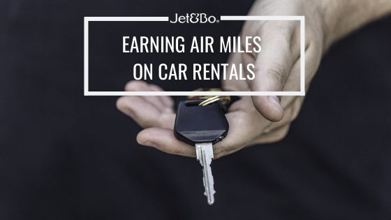 Earning Air Miles on Car Rentals