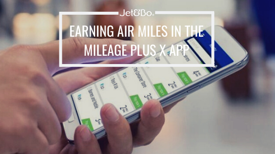Earning Air Miles by Buying eGift Cards in the United MileagePlus X App