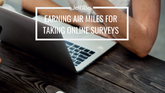 Earning Air Miles by Taking Online Surveys