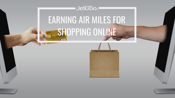 Earning Air Miles for Shopping Online