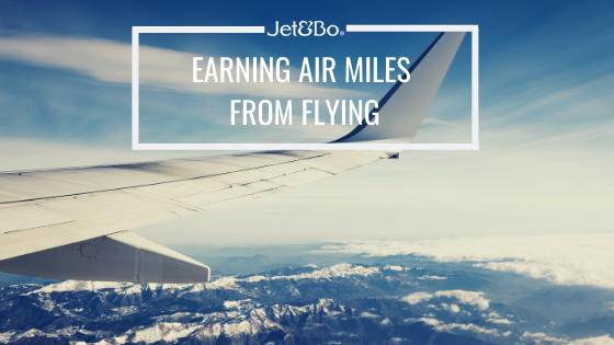 Earning Air Miles from Flying