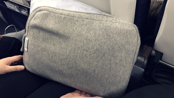 Tip: The Cashmere Travel Set Carry Case Is Also a Pillow Case