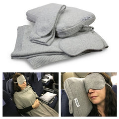 Jet&Bo Cashmere Travel Set in Use