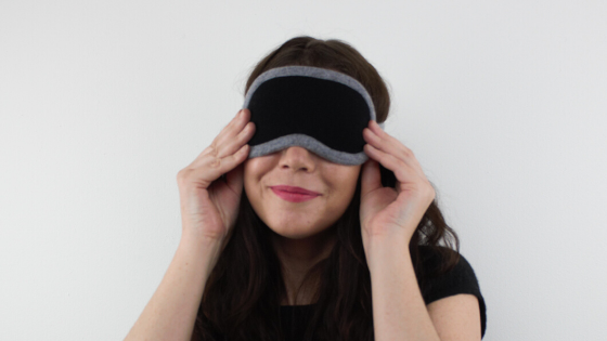 Dream Envy Cashmere Eye Mask Reimagined
