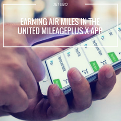 Earning Air Miles Through the United Mileage Plus X App