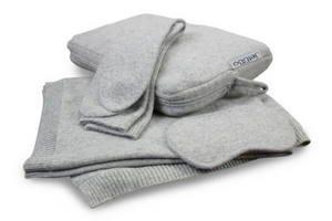Jet&Bo Make Travel Luxurious Again Cashmere Travel Set