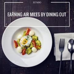 Earning Air Miles by Dining Out