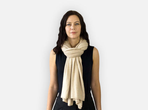 Jet&Bo Cashmere Travel Wrap Style The Classic With A Twist