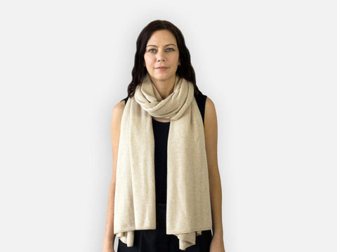 Jet&Bo Cashmere Travel Wrap Style The Classic