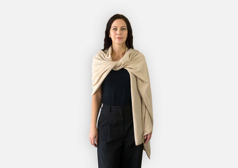 Jet&Bo Cashmere Travel Wrap Style The Fling