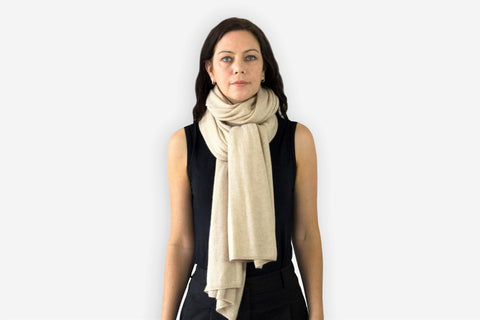 Jet&Bo Cashmere Travel Wrap Style The Knot