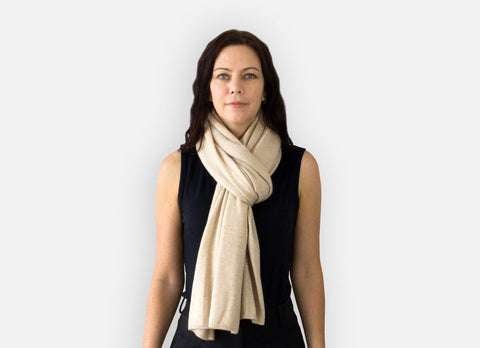 Jet&Bo Cashmere Travel Wrap Style The Loop