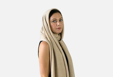 Jet&Bo Cashmere Travel Wrap Style The Snood