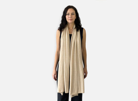 Jet&Bo Cashmere Travel Wrap Style The Traveler