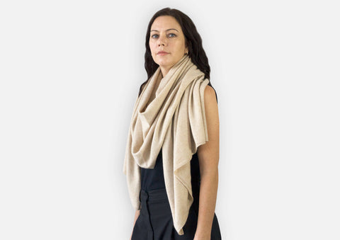 Jet&Bo Cashmere Travel Wrap Style The Western