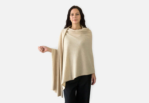 Jet&Bo Cashmere Travel Wrap Style The Wrap